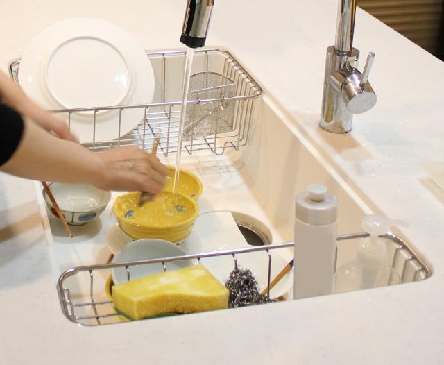 たまりすぎた食器拭きは、月によって入れ替える